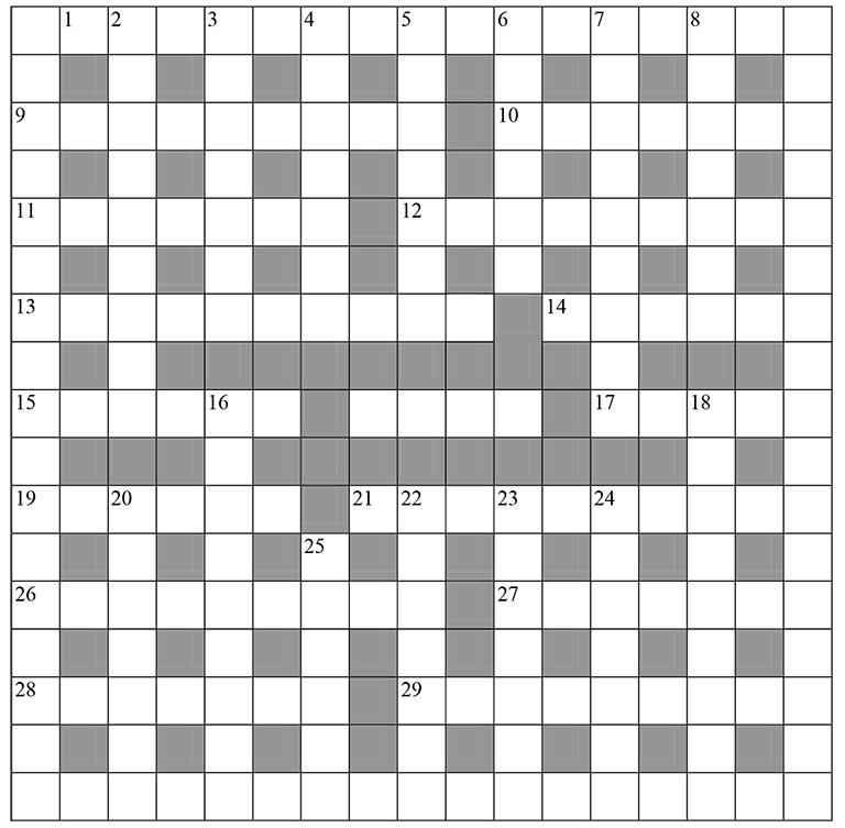 Crossword Jam Answers Cuba | crossword for kids